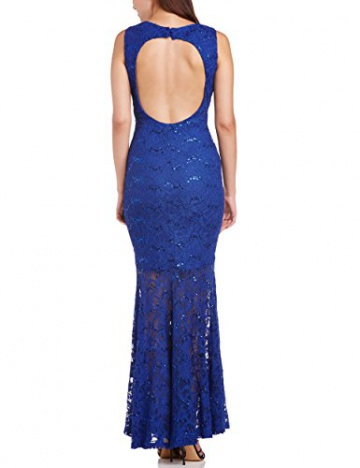 Hailey Logan Damen Kleid Gr. 30, Blau - Blau (Königsblau) - 2