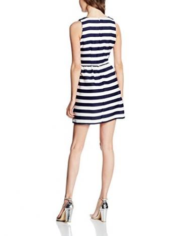 Hailys Damen Kleid SL P DR Adrienne, Blau (Blue 60001), 40 (Herstellergröße: L) -