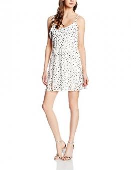 Hailys Damen Kleid T SL P DR Doria, Weiß (Offwhite 12000), 38 (Herstellergröße: M) -