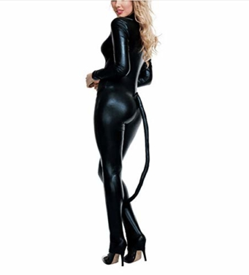 Halloween Overall Katze Nachtclub Cosplay Kostüm Bar Catwoman Bühne Kostüm Anzug - 2