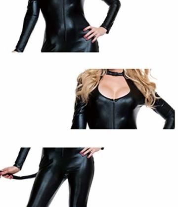 Halloween Overall Katze Nachtclub Cosplay Kostüm Bar Catwoman Bühne Kostüm Anzug - 3