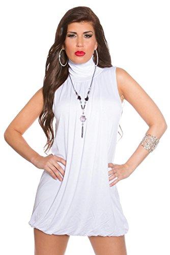 Hippes Minidress im Ballon-Style mit Halskette S/M - 1