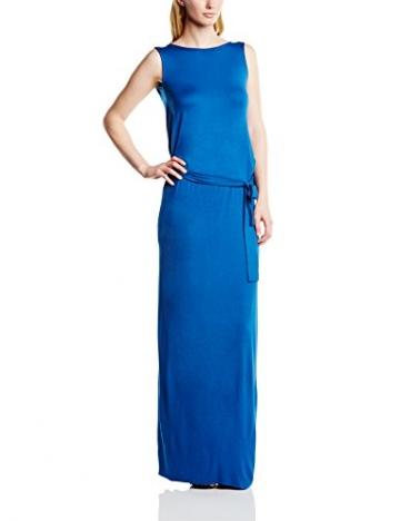 Hoss Intropia Damen Kleid VEX.2539.513, Maxi, Gr. 40 (Herstellergröße:Size 14), Blau - 1