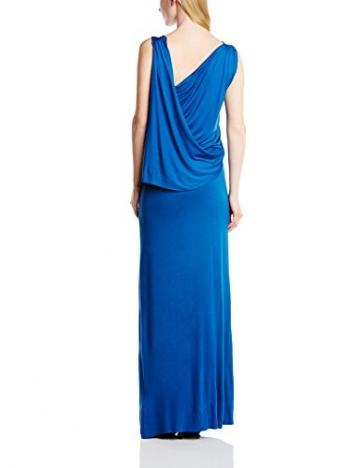 Hoss Intropia Damen Kleid VEX.2539.513, Maxi, Gr. 40 (Herstellergröße:Size 14), Blau - 2