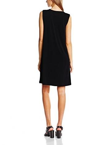 ICHI Damen Jumper Kleid 20100863, Mini, Gr. 36 (Herstellergröße: S), Schwarz (10001 Black) -