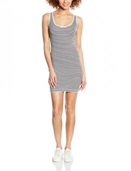 ICHI Damen Schlauch Kleid 20100857, Mini, Gr. 34 (Herstellergröße: XS/S), Weiß (White 10100) -