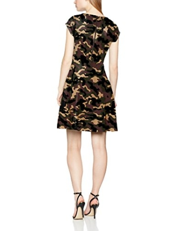 Intimuse Damen A-Linie Kleid Pergia 12118, Knielang, Gr. 42, Mehrfarbig (Camouflage Bedruckt 111) - 2