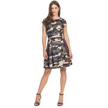 Intimuse Damen A-Linie Kleid Pergia 12118, Knielang, Gr. 42, Mehrfarbig (Camouflage Bedruckt 111) - 3