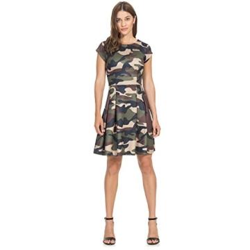 Intimuse Damen A-Linie Kleid Pergia 12118, Knielang, Gr. 42, Mehrfarbig (Camouflage Bedruckt 111) - 4