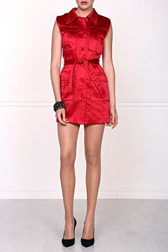 Isabel Garcia Damen eng anliegendes Minikleid, Rot, DE38 - 3