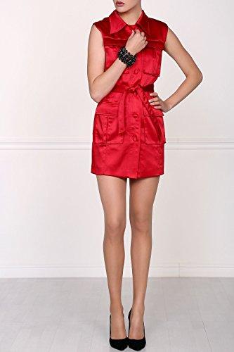 Isabel Garcia Damen eng anliegendes Minikleid, Rot, DE38 - 4