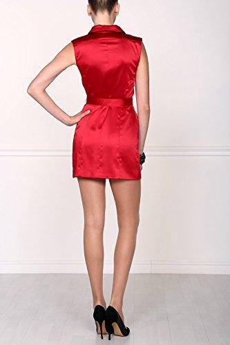 Isabel Garcia Damen eng anliegendes Minikleid, Rot, DE38 - 5