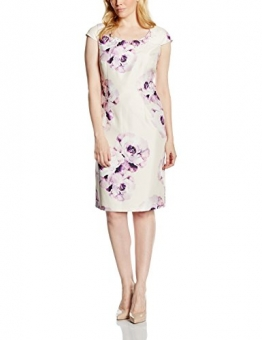 Jacques Vert Damen, Bleistift, Kleid, Placement Print With Embellishment, GR. 34 (Herstellergröße: Size 8), Rosa (light Pink) -
