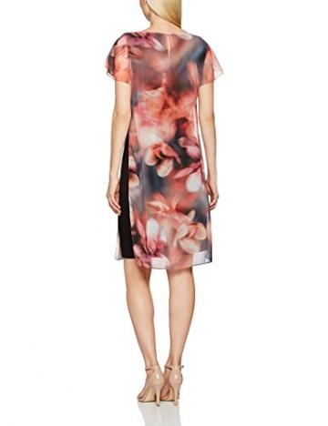 Jacques Vert Damen Kleid Chiffon and Jersey Printed Tunic, Mehrfarbig, 34 -