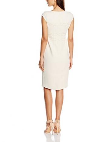 Jacques Vert Damen Kleid Cut Out Scallop, Mehrfarbig-Multicoloured (Light Neutral), Gr.42 EU(16UK) -