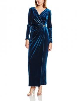 Jacques Vert Damen Kleid Gr. 36, Blau - Blau - Mid Blue - 1