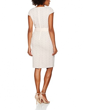 Jacques Vert Damen Kleid Lace Panel Shift, Beige (Neutral), 40 -