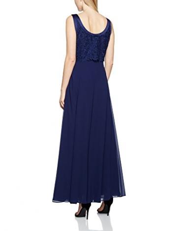 Jacques Vert Damen Kleid Long Carwash Lace, Blau (Dunkelblau), 42 -
