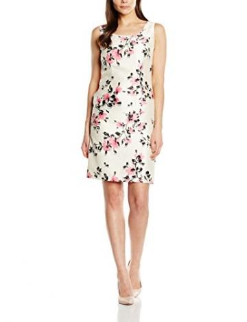 Jacques Vert Damen Kleid Petite All Over, Mehrfarbig-Multicoloured (Multi Pink), 42 -