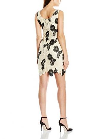 Jacques Vert Damen Kleid Petite Monochrome Lace, Mehrfarbig-Multicoloured (Multi Cream), 16 -