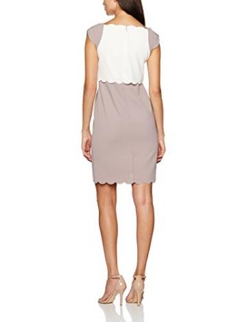 Jacques Vert Damen Kleid Petite Scallop, Mehrfarbig, 42 -