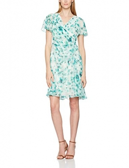 Jacques Vert Damen Kleid Petite Soft, Mehrfarbig, 38 -