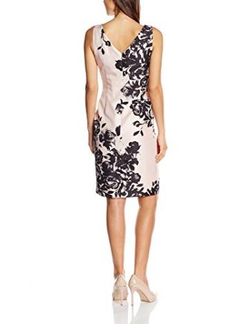 Jacques Vert Damen Kleid Placement Print, Mehrfarbig-Multicoloured (Multi Pink), Gr.48 EU(22 UK) -