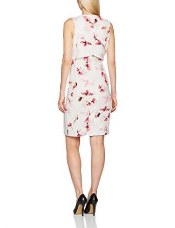 Jacques Vert Damen Kleid Printed Texture Shelf, Mehrfarbig, 50 -