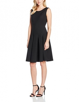 Jacques Vert Women's Texture Flare Regular Dresses, schwarz (Black), Gr. 40 (14 UK) -