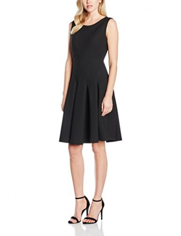 Jacques Vert Women's Texture Flare Regular Dresses, schwarz (Black), Gr. 40 (14 UK) -