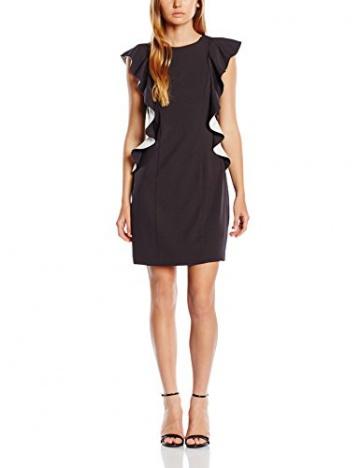 Jane Norman Damen, Kleid, Annabella, GR. 36 (Herstellergröße: Size 10), Schwarz (black/cream) - 1