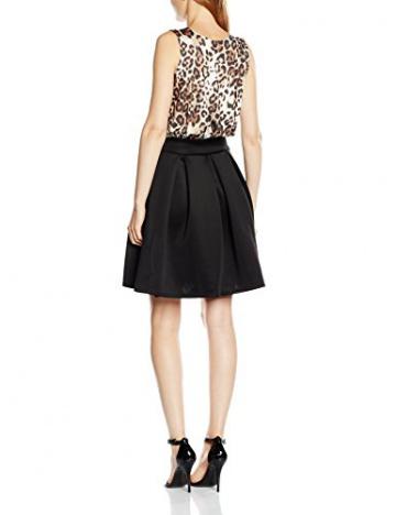 Jane Norman Damen, Skater, Kleid, Alice, GR. 36 (Herstellergröße: Size 10), Schwarz (animal/black) - 2
