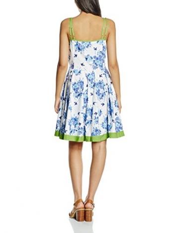 Joe Browns Damen Bustier Kleid, San Jose Mini , Gr. 42 (Herstellergröße: 16), Mehrfarbig - Multicoloured (Blue-Blue/Lime) -