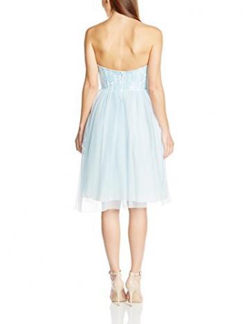 John Zack Damen Kleid, Strapless Lace Bustier With Tulle Skirt Prom, GR. 38 (Herstellergröße: Size 12), Grün (Mint) - 2
