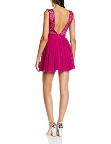 John Zack Damen, Skater, Kleid, Mesh Skater, GR. 36 (Herstellergröße: 10), Rosa (Pink) - 2