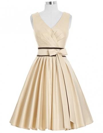 Kate Kasin® Elegant suess Abschlussfeier Schleife Bankett Kleid L KK209-1 -