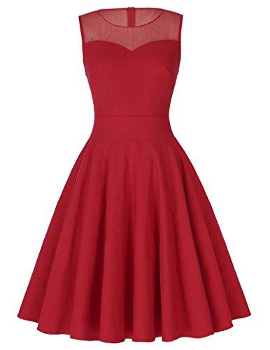Kleid rot kurz