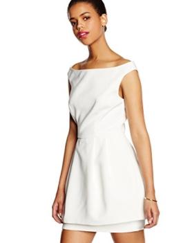 Keepsake Damen Kleid Disillusion, Elfenbein-Off-White (elfenbeinfarben), 36 - 1