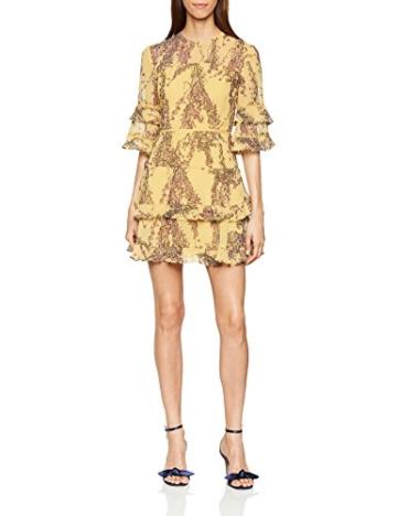 Keepsake Damen Kleid Light Up, Mehrfarbig (Golden Wildflower Floral 711), 36(Hersteller Größe: Medium) - 1
