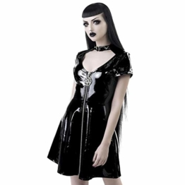 Killstar Lack Minikleid - Sin City L - 1