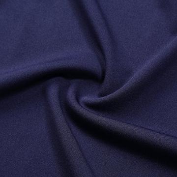 KOJOOIN Damen Elegant Kleider Spitzenkleid Ohne Arm Cocktailkleid Knielang Rockabilly Kleid Blau Dunkelblau XS - 5