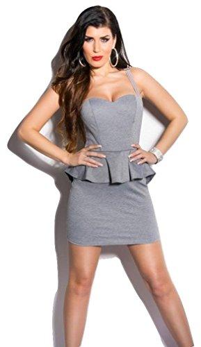 Koucla Damen Kleid Grau Grau - 1