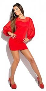 Rotes Kleid kurz