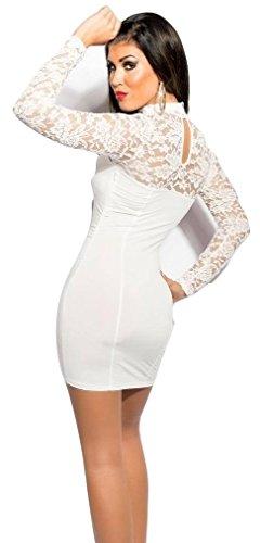 Koucla Damen Kleid Weiß Weiß - 1