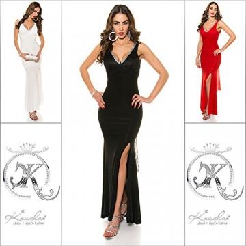 KouCla Red Carpet Look Abend Kleid mit Spitze Size M36 38 Schwarz - 9