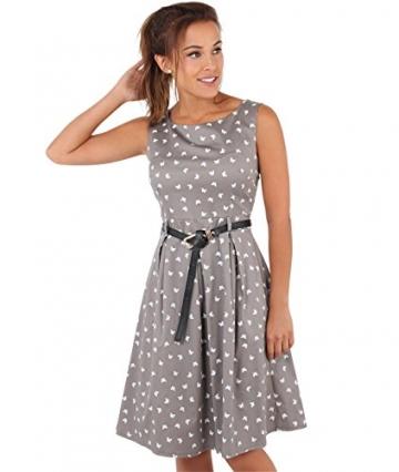 KRISP Damen 50er Jahre Vintage Kleid_(6874-MOC-14) -