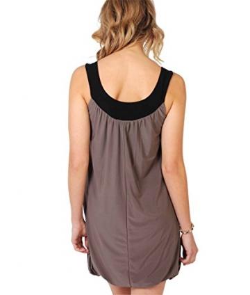 KRISP Damen Tunika Minikleid Retro 20er Jahre Stil Swing_(3565-MOC-14.2) - 3