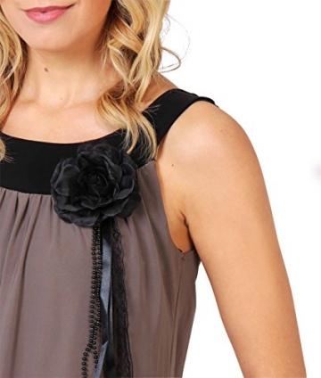 KRISP Damen Tunika Minikleid Retro 20er Jahre Stil Swing_(3565-MOC-14.2) - 4