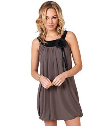 KRISP Damen Tunika Minikleid Retro 20er Jahre Stil Swing_(3565-MOC-14.2) - 1