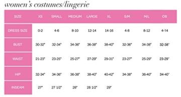 Leg Avenue 87039 - Nahtloses Mini Kleid Mit Slashlook Und Seitlichen Cut-Outs Akzente Dessous Damen Reizwäsche, Einheitsgröße (EUR 36-40) - 5